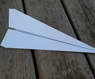 最简单的纸飞机