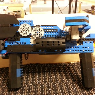 The First Fully Automatic, Clip Fead, LEGO Nerf Gun: Raptor CS-35