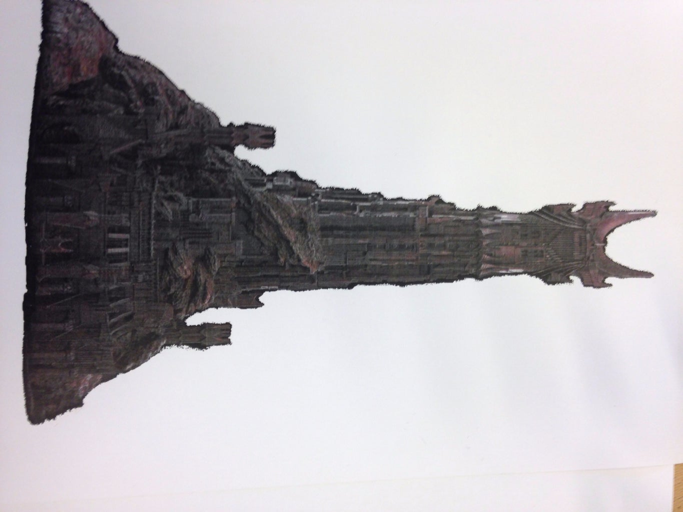 Print Out the Detailed Tower of Barad-Dur