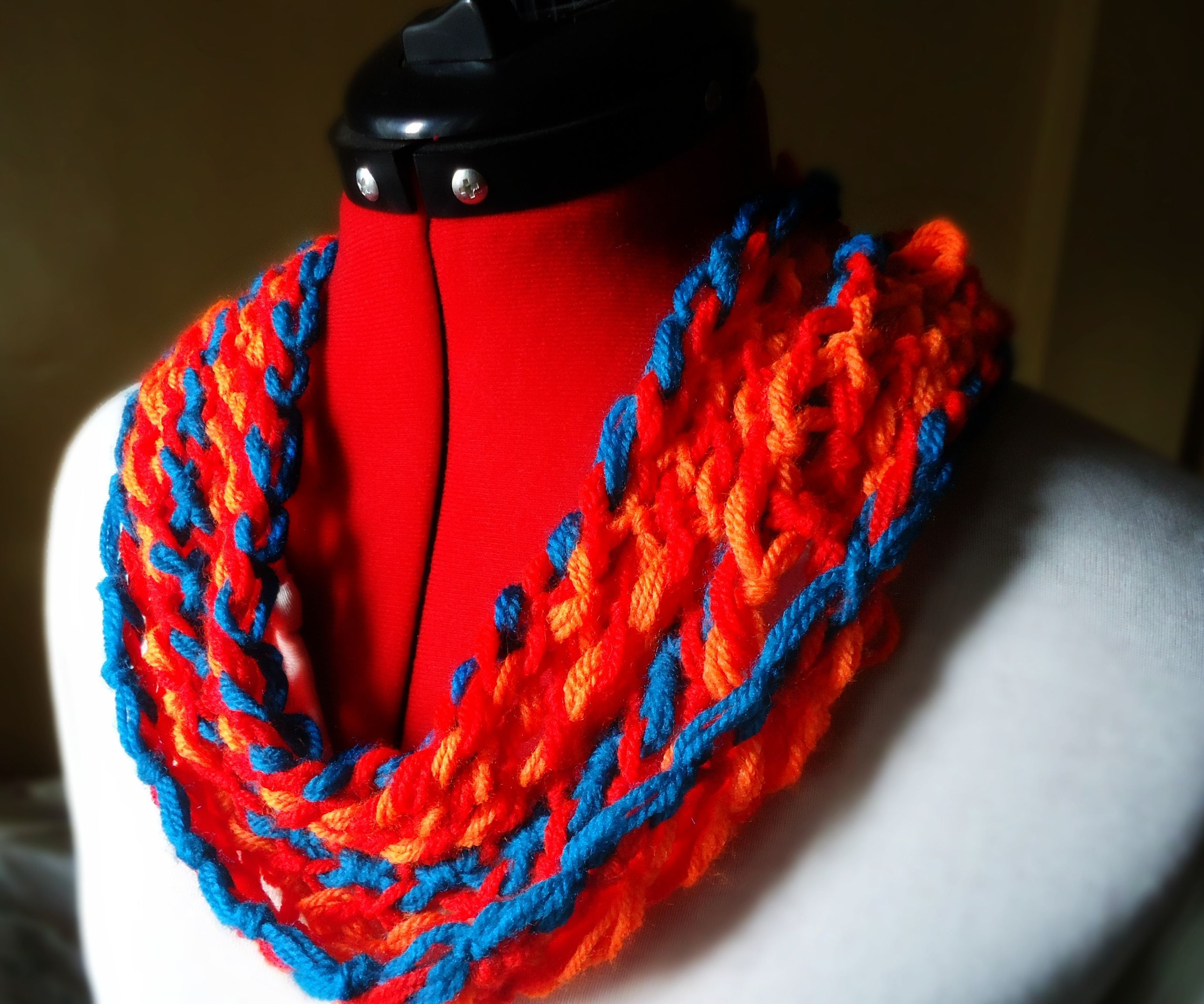 Knotted Neck Warmer