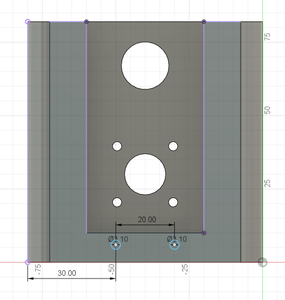 Design Process - Moving Load Cell Mount - Endstop Mounting Holes