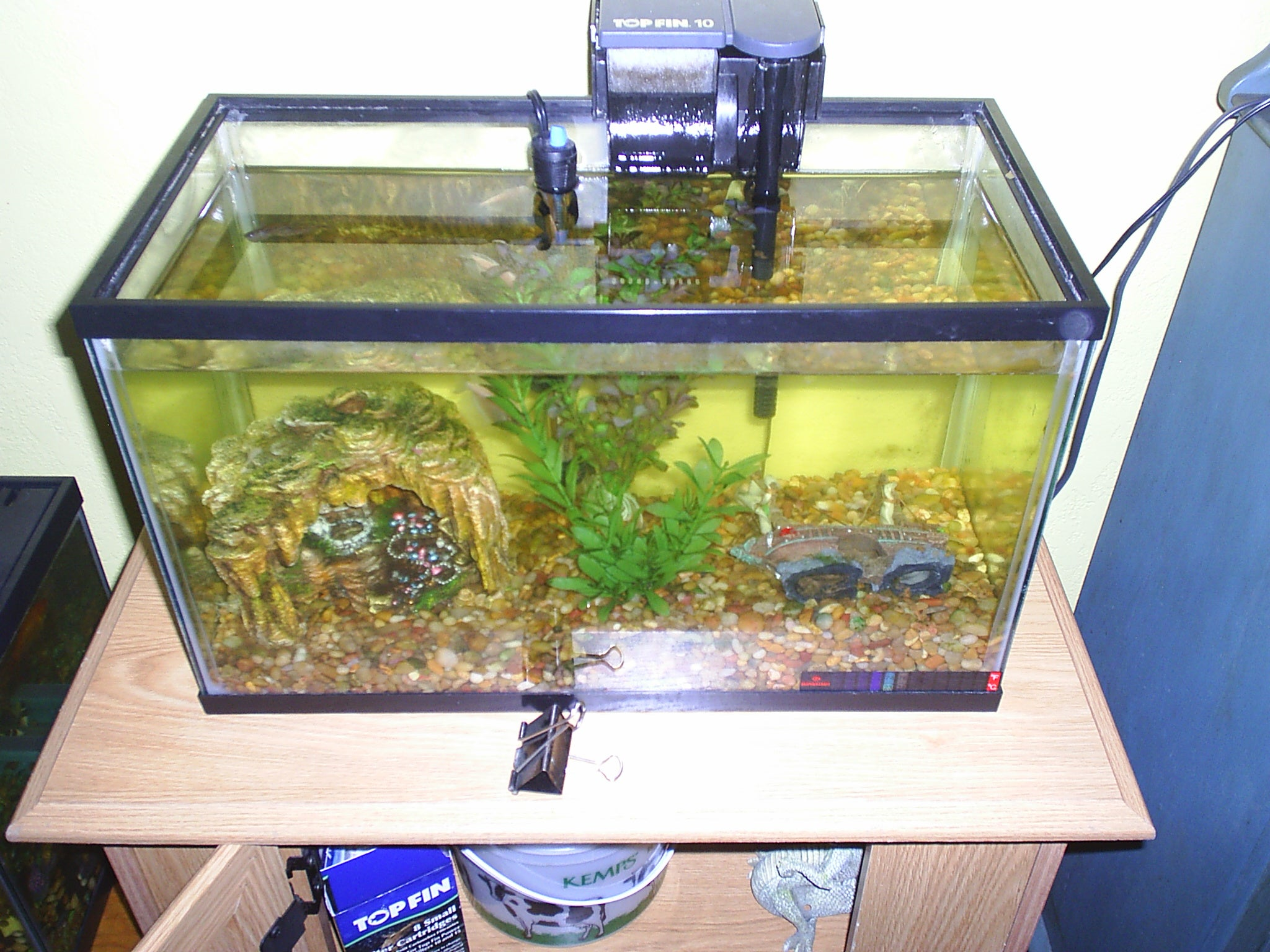 Continuous Fish Tank Vacuum Filter 3 Steps Instructables