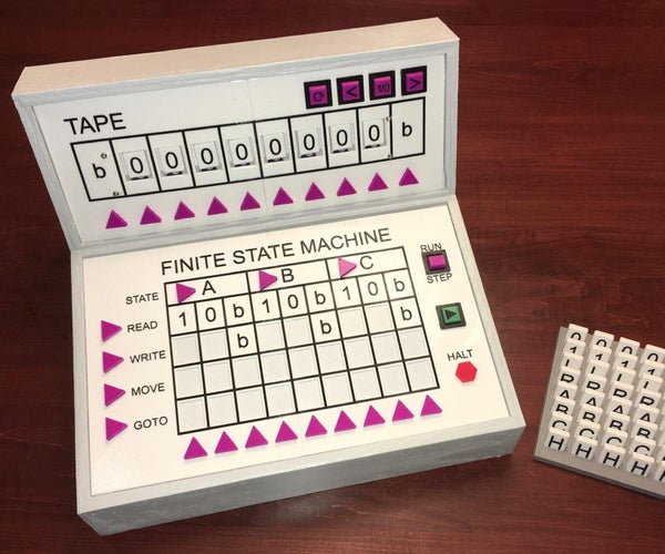TMD-1 a Turing Machine Demonstrator