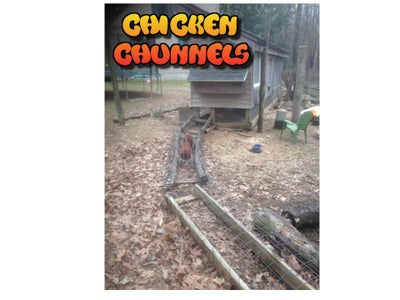 Chicken Fix'n - Super Simple Chicken Waterer, Chicken Chunnels and 50# Feeder!