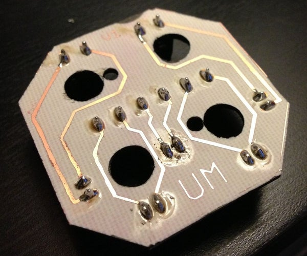 DIY Prototype Printed Circuit Board (PCB) Manufacture