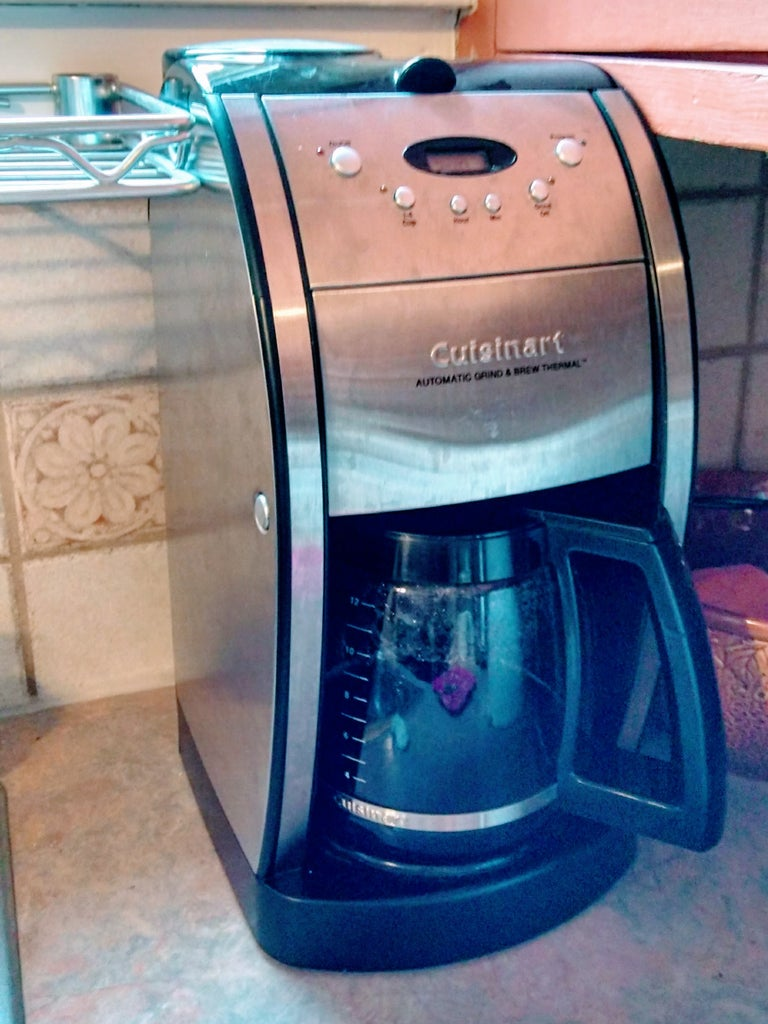 Estate Sale Coffee Maker Cleaning