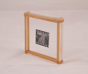 Quick, Easy, and Cheap Film Negative Display