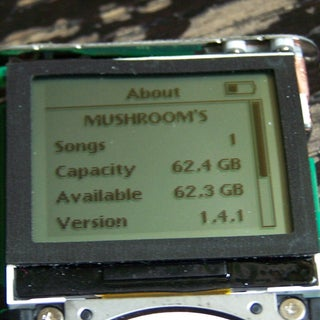 Ipod Mini to 32gig and New Battery Without Scratching It.
