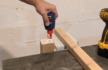 Woodworking - Connecting Tower Rod With Jib Rod