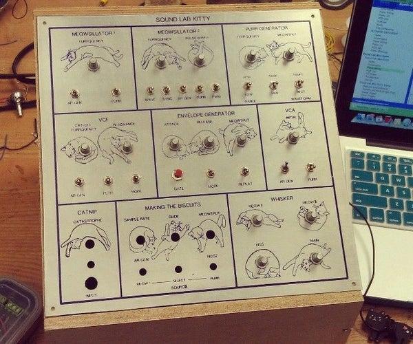 Build the MFOs Sound Lab Mini Synth