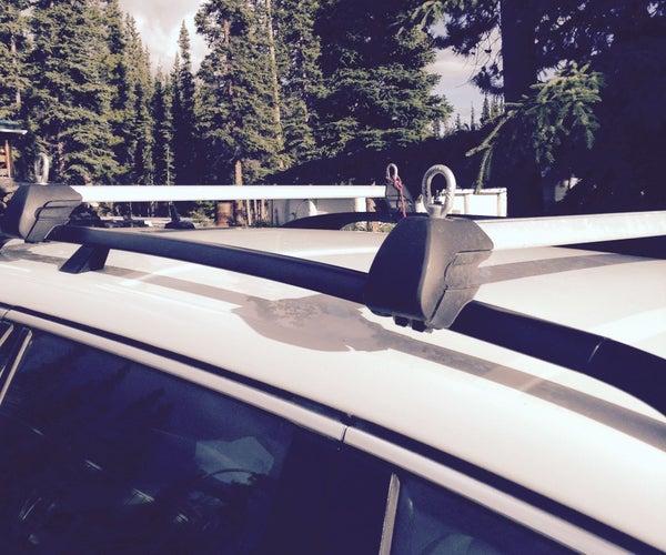 Car-top Roof Rack Tie Downs