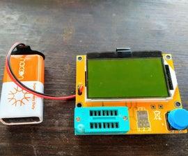 TransistorTester Firmware Flash With Arduino
