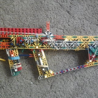 K'NEX RBLTR V.1 (Red's Breach Loading Tactical Rifle) (Build)