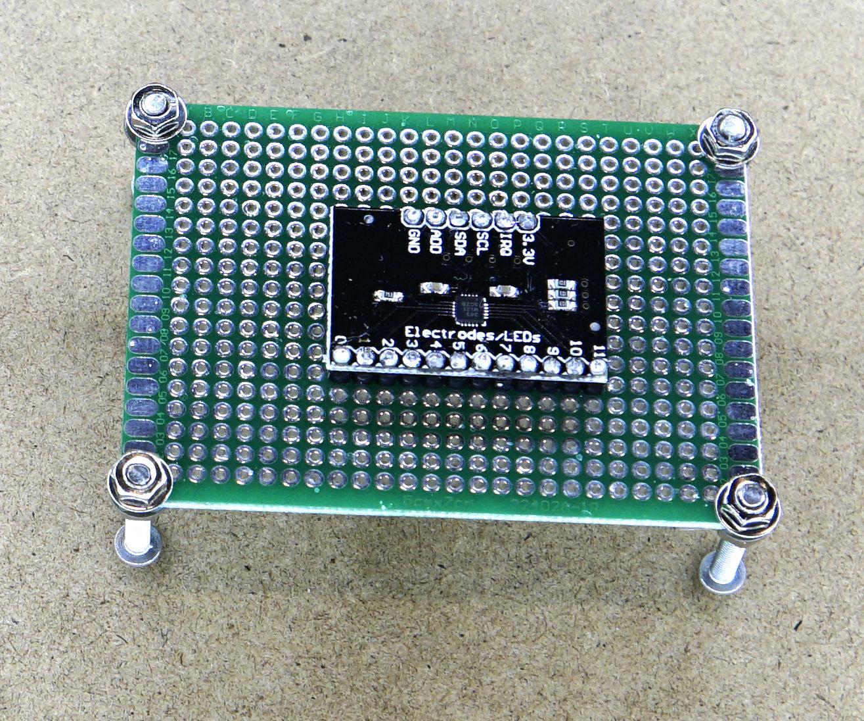 Simple PCB Pin Header Soldering Tool