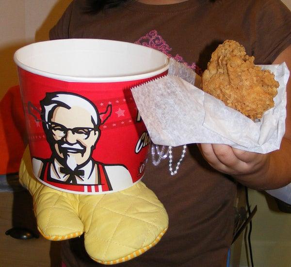 Evil KFC Bucket of Goodness