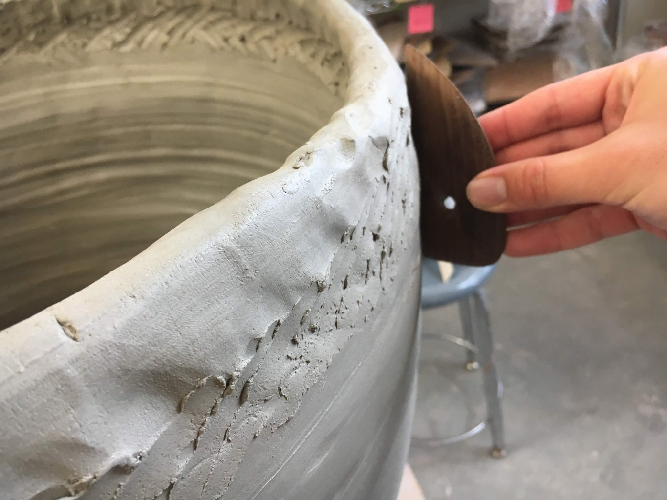 The Coiling Procedure: Throwing