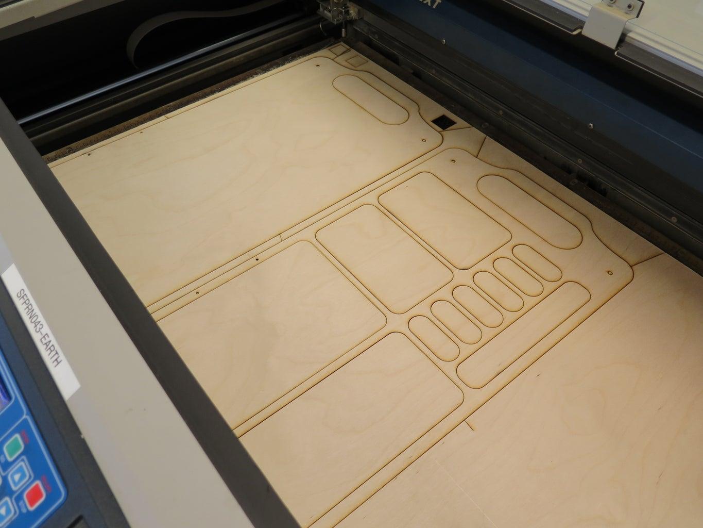 Lasercut Trays