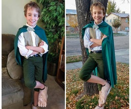 "The Hobbit ""Feet"" Costume"