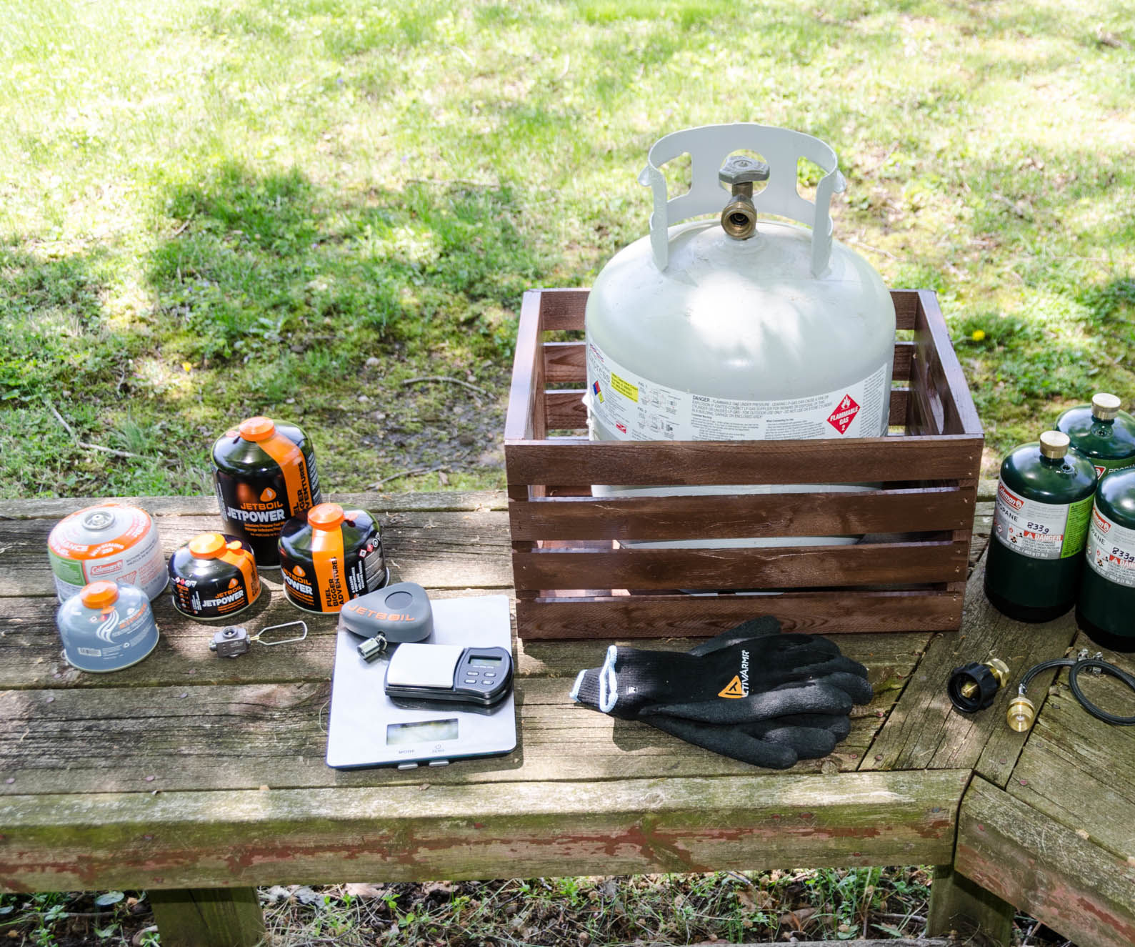 Refilling Single-Use IsoButane & Propane Fuel Canisters