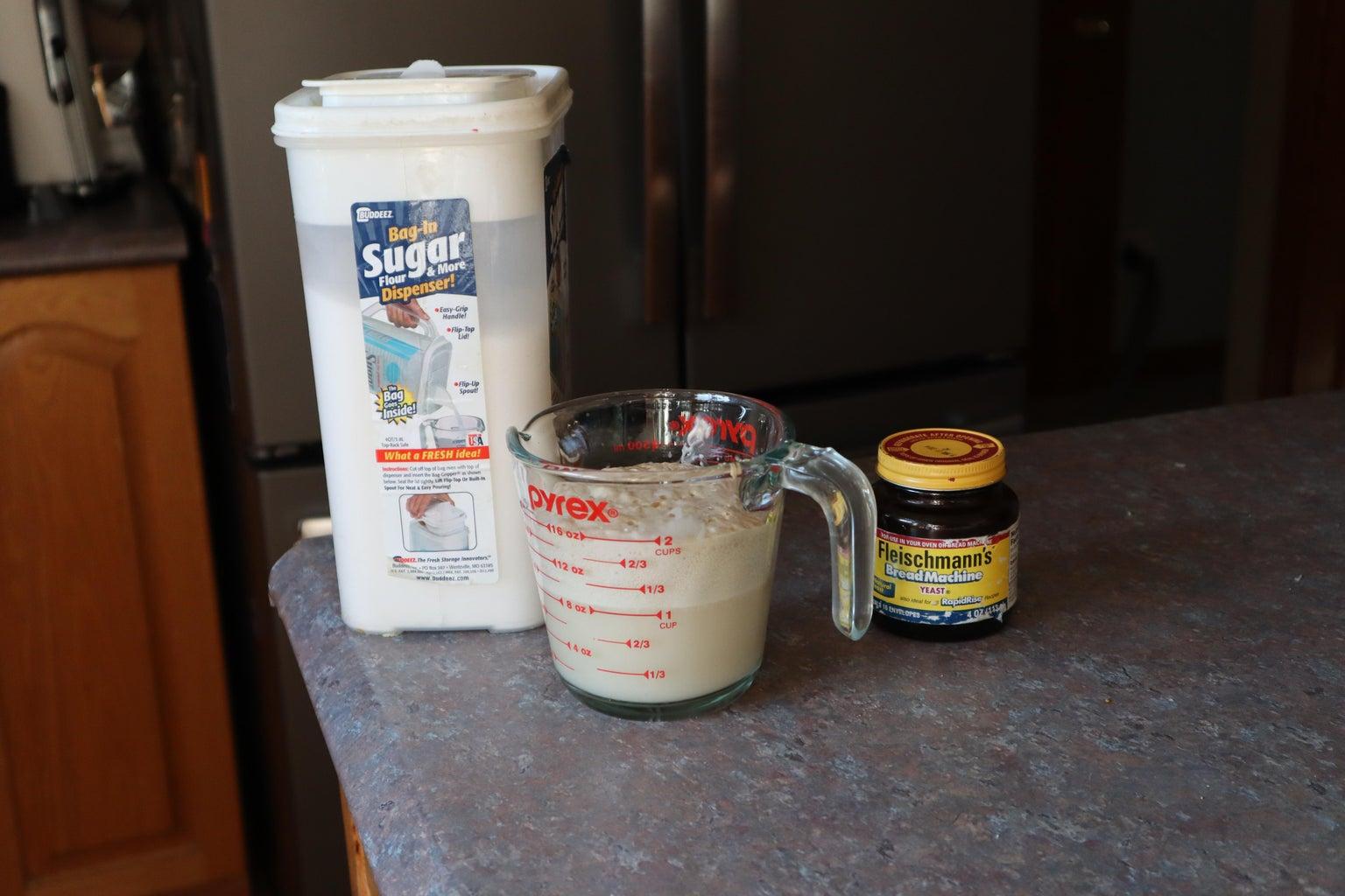 Make Yeast Mix