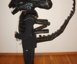 H.R. Giger-Inspired Alien Costume