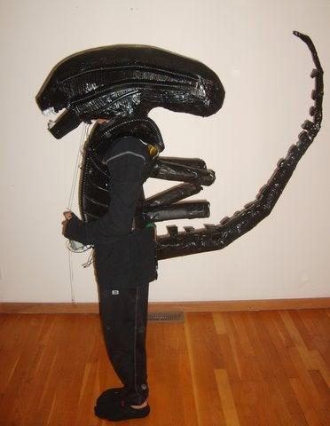 H.R. Giger-Inspired Alien Costume