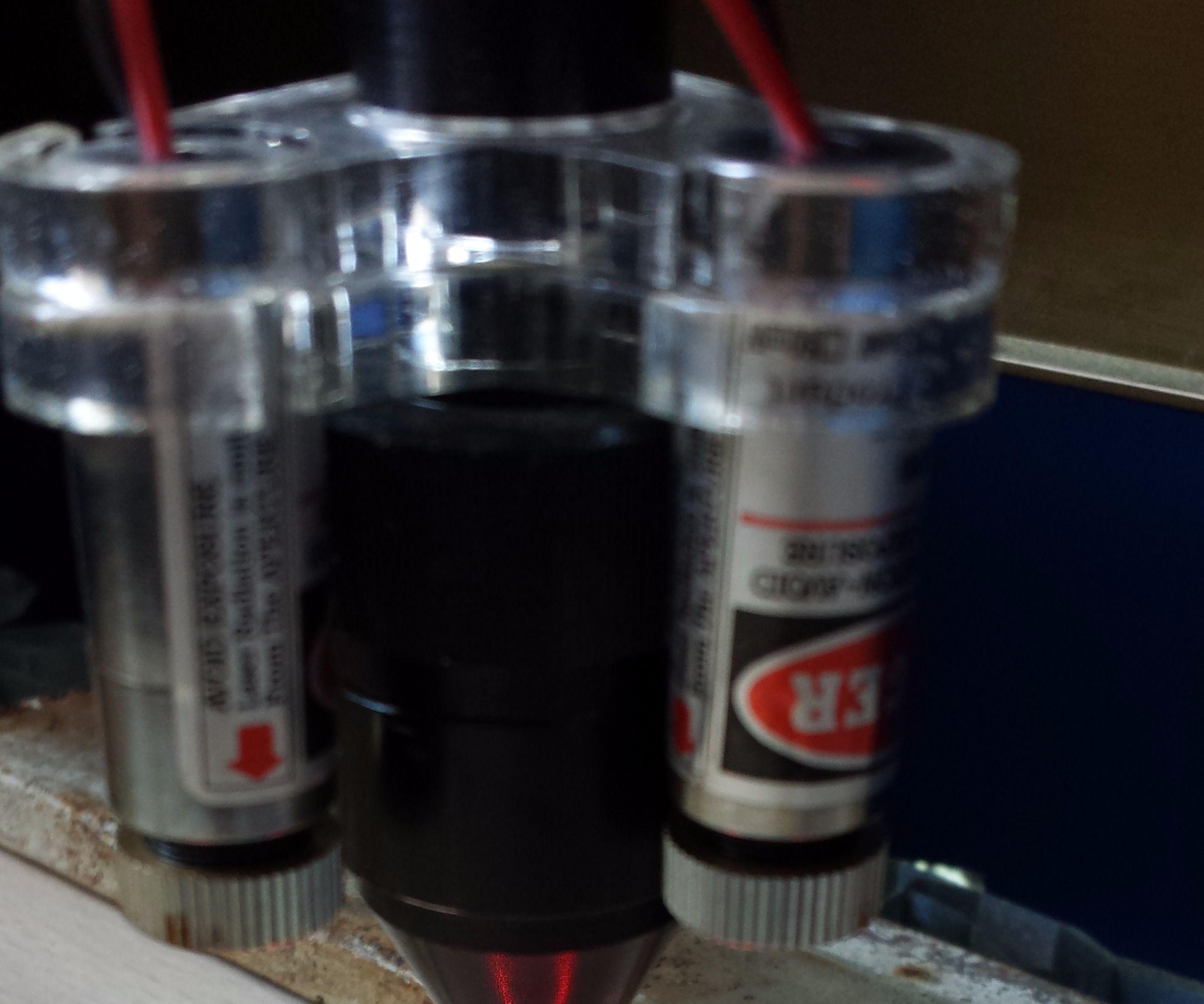 CO2 Laser Cross pointer