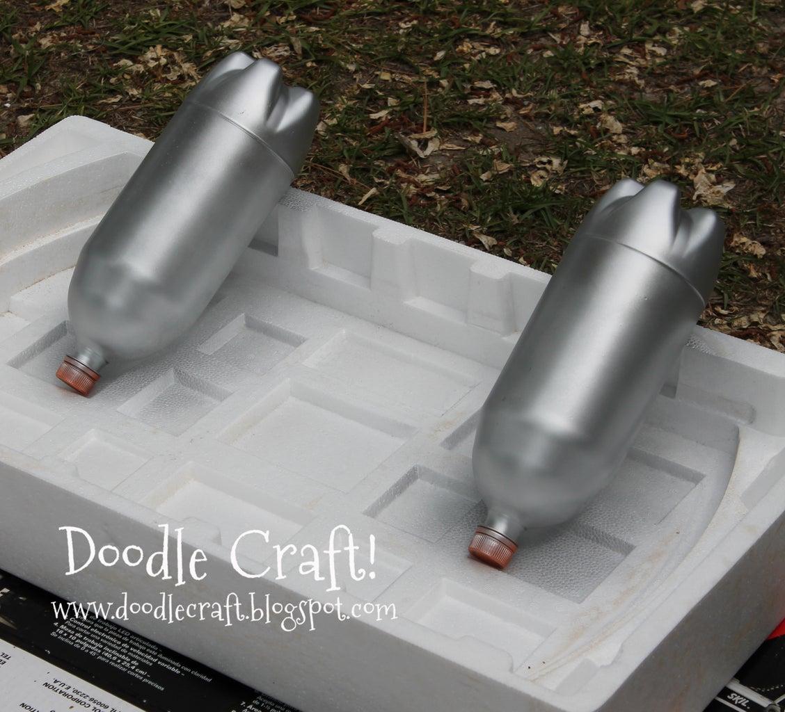 Soda Bottles Become Jet Turbines!