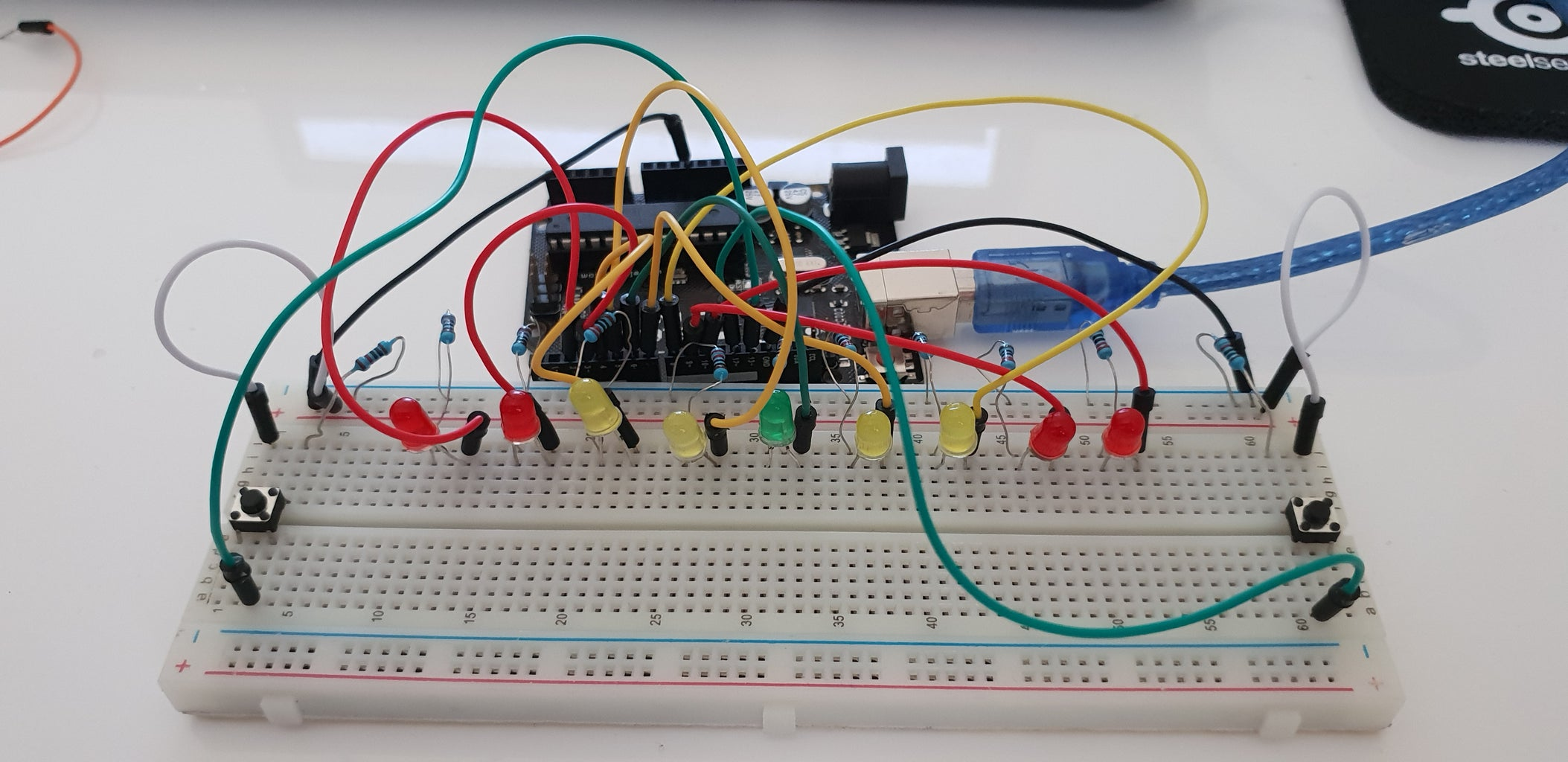 This Is What Your Final Circuit Should Look Like After Completing All the Steps Correctly