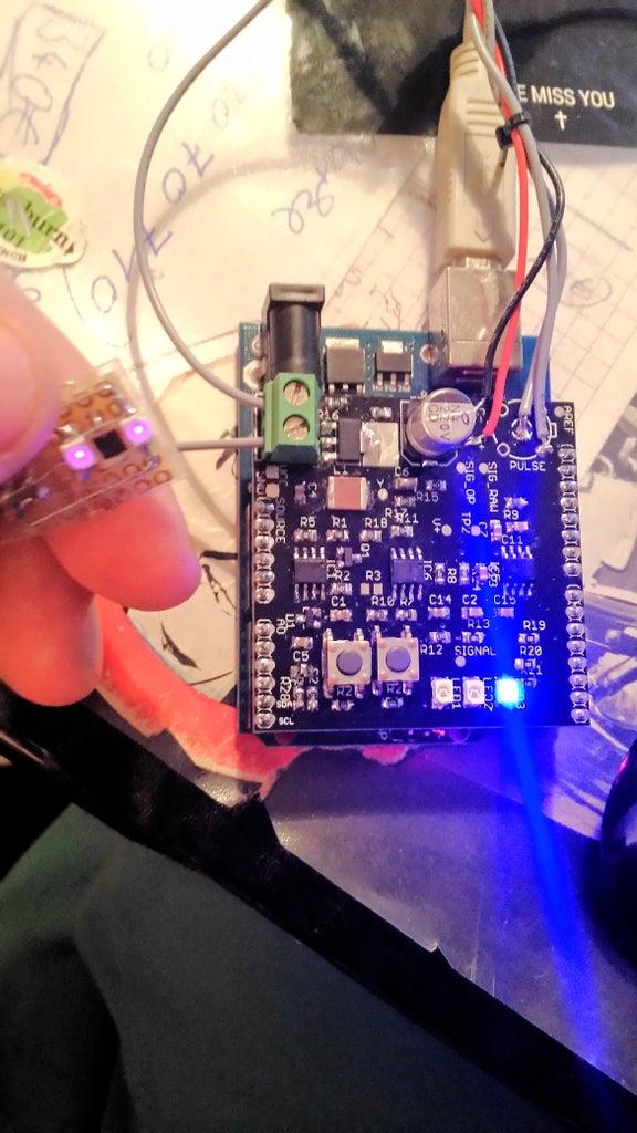 LED Pulse Sensor (PPG) for Arduino