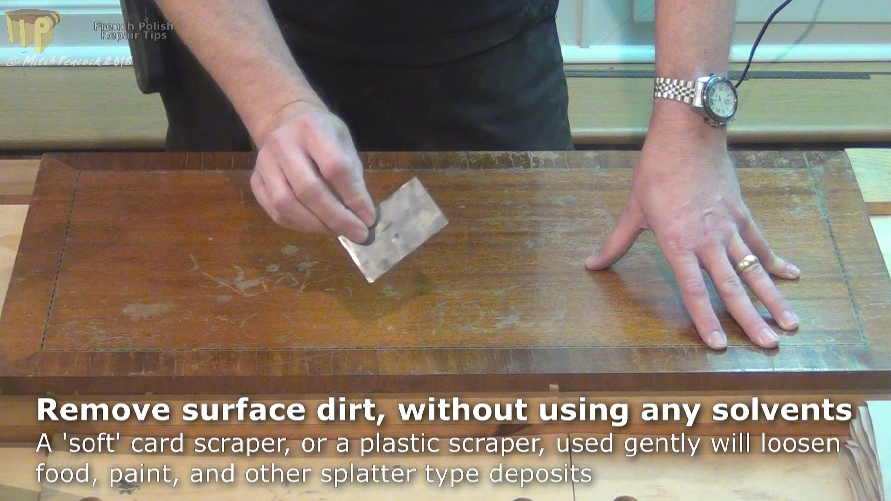 Remove Loose Dirt, Food and Paint Splatters, Etc.