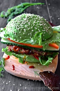 Enjoy Vegan Burger