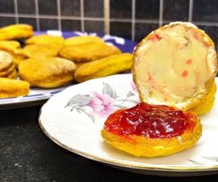 南瓜香料酪乳饼干