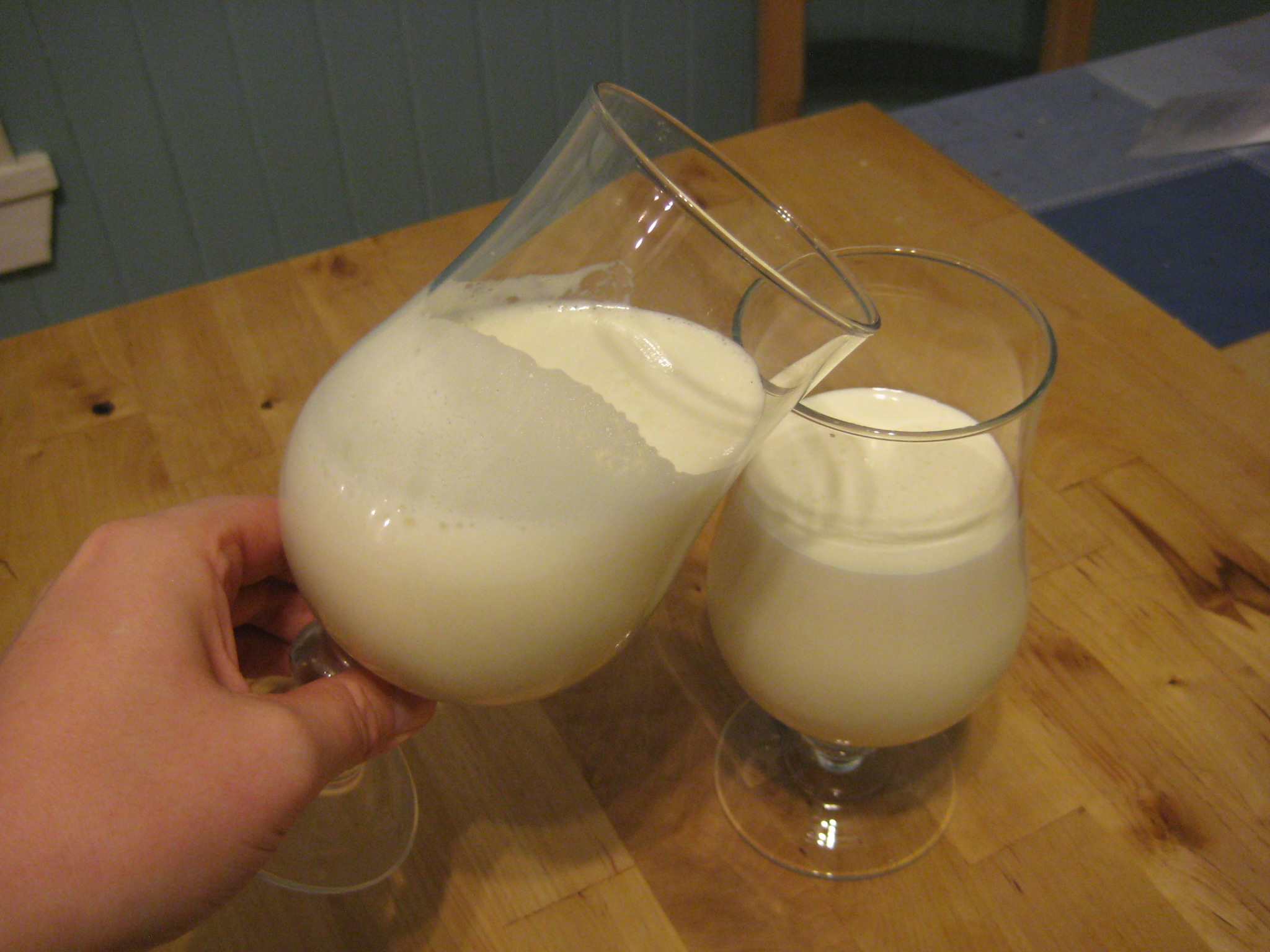 Creamy One Minute Eggnog