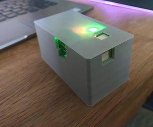 CO2传感器带警告LED和气溶胶指示器(电晕病毒)