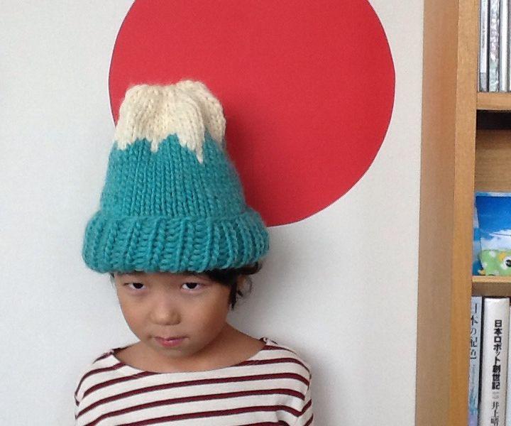 Mt.Fuji Knit Hat