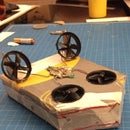 Cardboard Hovercraft