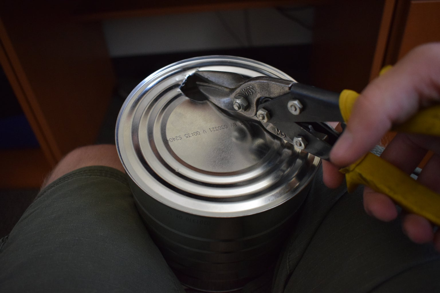 Prepping the Cans