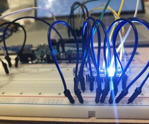 Running LEDs Arduino