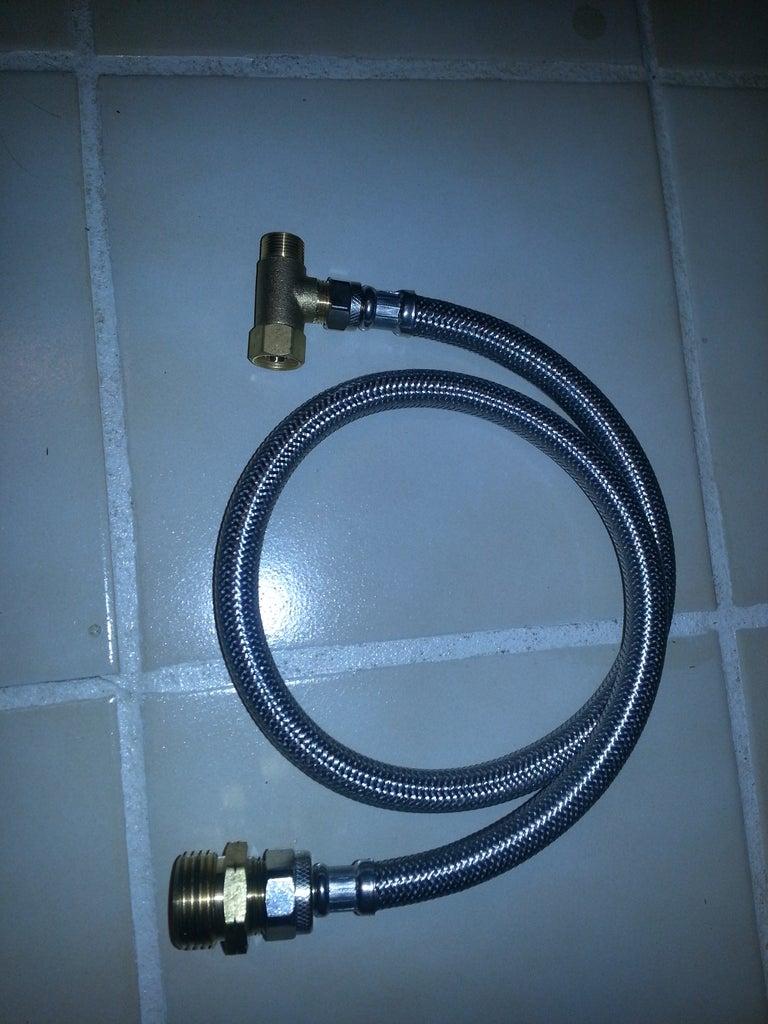 Setup for Using Indoor Plumbing