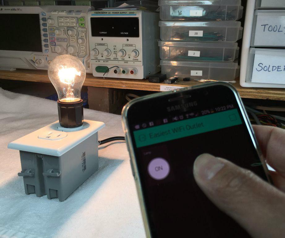 DIY WiFi Outlet (HariFun#135)