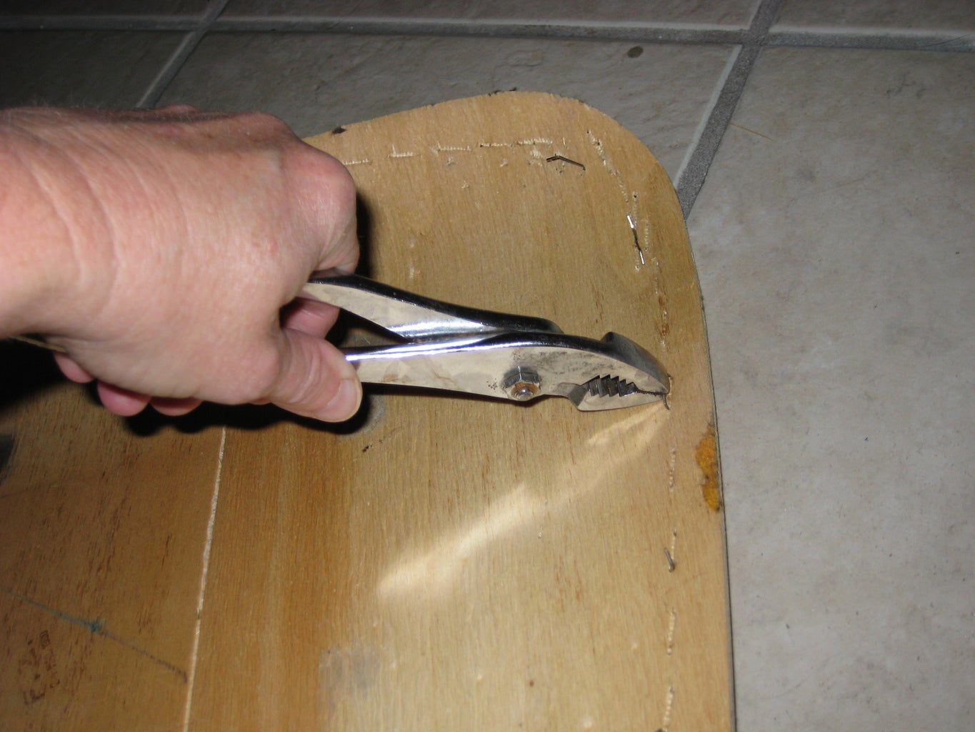 Clean Up and Glue Padding