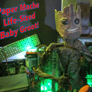 Paper Mache Life-Sized Baby Groot!