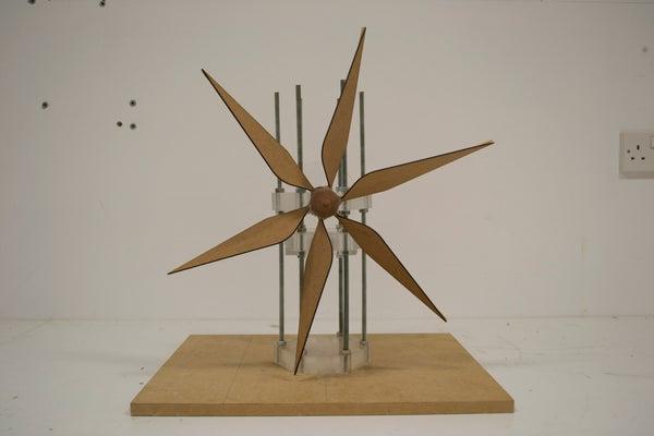 Wind Turbine - Tilting at Windmills - Team Leaves