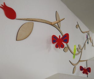 Colourful Wall Mounted Decoration