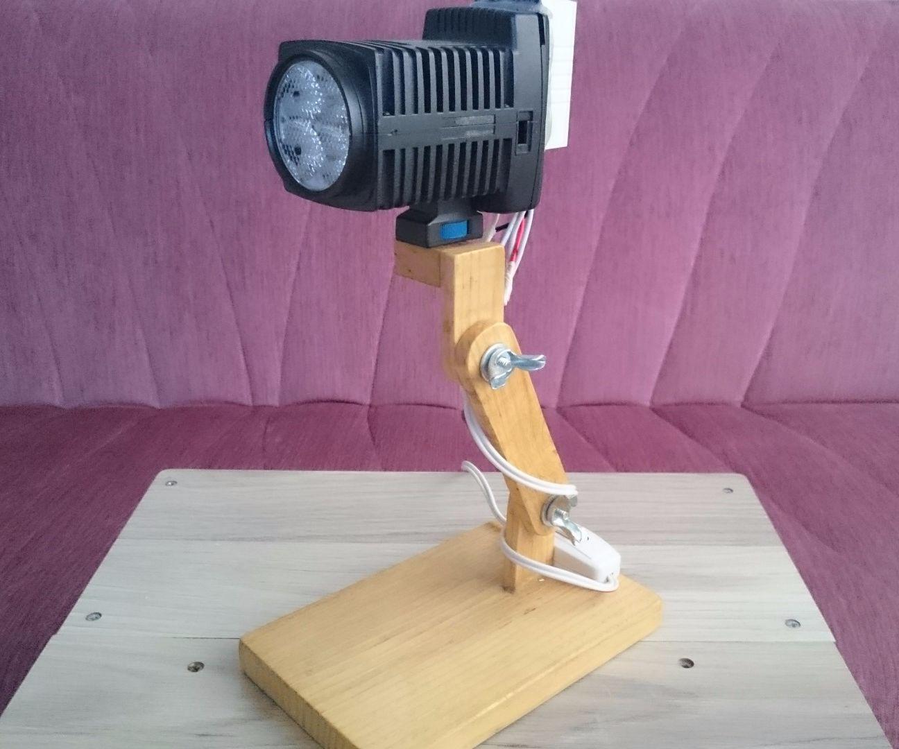 Spotlight Desk Lamp