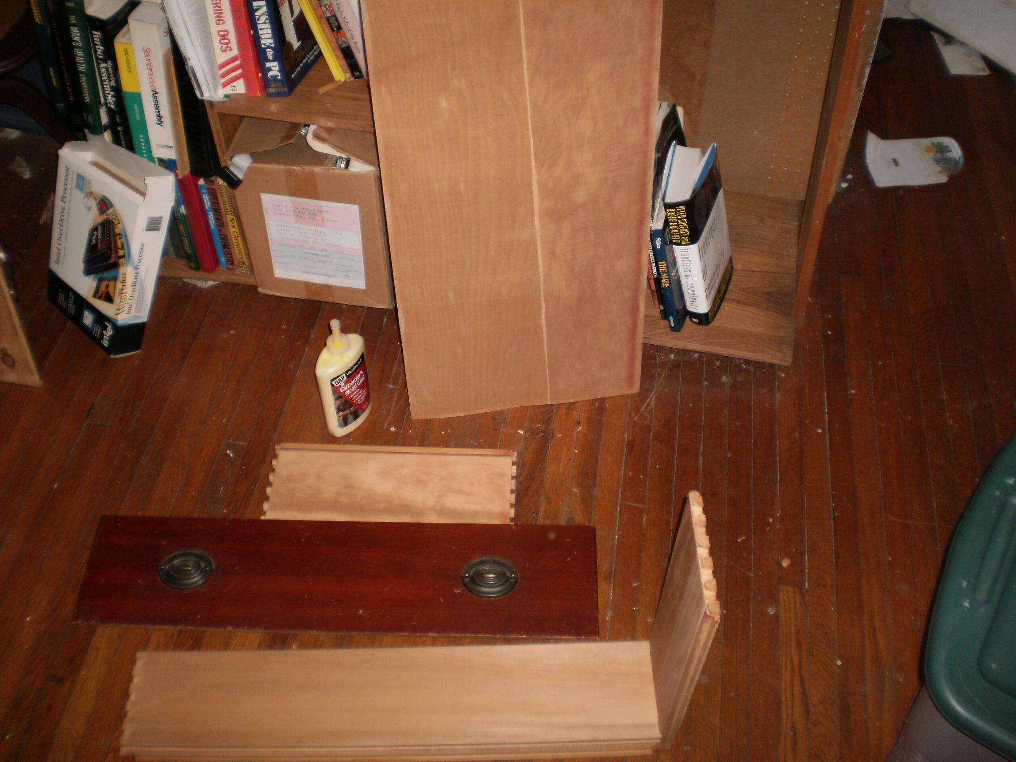 Dresser drawer fix (modified Dovetail)