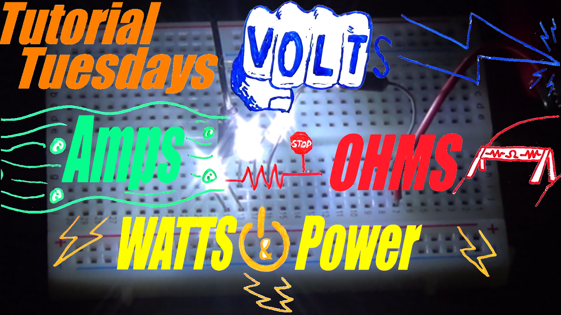 Lets Start With Volts, Ohms, Amps, and Watts!