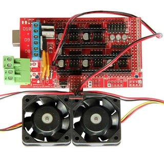 Configuring and Using Reprap Ramps1.4 RRD Fan Extender