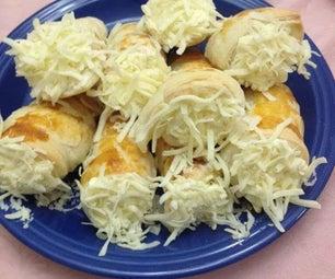 Hungarian Cheesy Cream Horn (Sajtos Rolo)